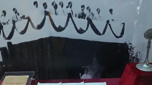 Tái hiện mùa thu năm 1945 qua những hiện vật hiếm thấy tại triển lãm 'Ngày Độc lập 2/9'