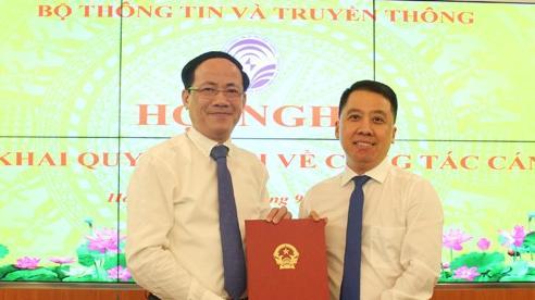 Bộ TT&TT biệt phái cán bộ làm Giám đốc Sở TT&TT Hậu Giang