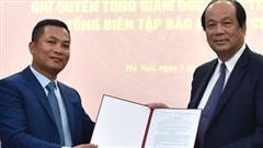 Bổ nhiệm ông Nguyễn Hồng Sâm làm quyền Tổng Giám đốc Cổng TTĐT Chính phủ