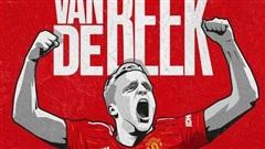 Van de Beek ký hợp đồng chính thức, fan Man United vỡ òa hạnh phúc