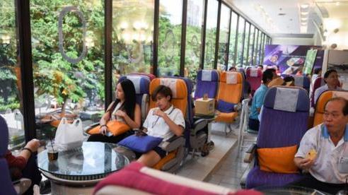 Hàng không Thái Lan mở nhà hàng phục vụ thực khách đam mê đồ ăn trên máy bay
