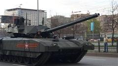 Xe tăng thay thế Armata có bệ phóng phóng thẳng đứng