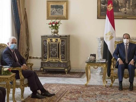 Ai Cập thảo luận với EU về quan hệ song phương và tình hình Libya