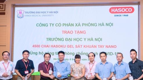 'Tiếp sức' phòng chống dịch COVID-19 cho Trường Đại học Y Hà Nội