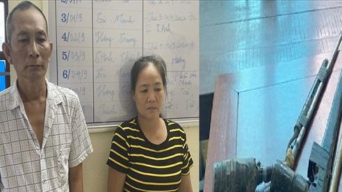 Triệt phá 'boong-ke' ma túy của cặp vợ chồng giang hồ, có tàng trữ súng