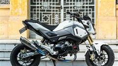 Khám phá Honda MSX đắt đỏ của dân chơi Hà thành: Tiền độ cả trăm triệu đồng, toàn độ hiệu từ Nhật, Mỹ, Thái