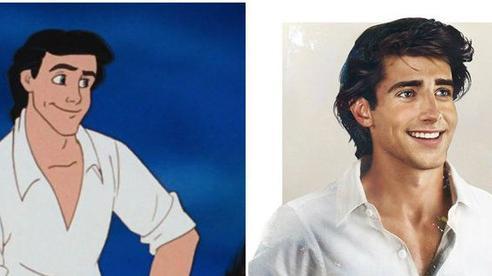 Bất ngờ với 'phiên bản đời thực' của các nam chính trong phim hoạt hình Disney, toàn siêu cấp đẹp trai 'đốn tim' chị em