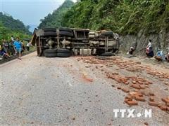 Hòa Bình: Tai nạn giao thông nghiêm trọng, tài xế tử vong tại chỗ