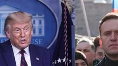 Nói về vụ nhà hoạt động đối lập Nga nghi bị đầu độc, Tổng thống Trump 'nước đôi'