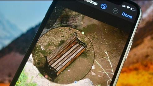 Cách sử dụng kính lúp trong chỉnh sửa ảnh để nhấn mạnh nội dung trên iPhone