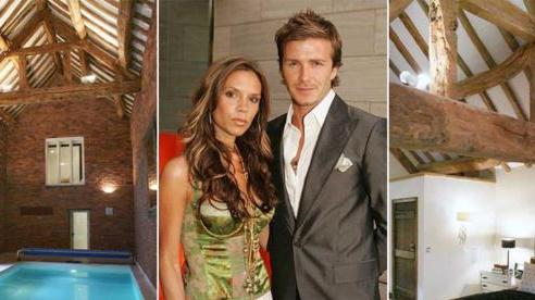 Bên trong căn nhà đầu tiên của David Beckham và Victoria