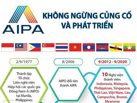 [Infographics] AIPA không ngừng củng cố và phát triển
