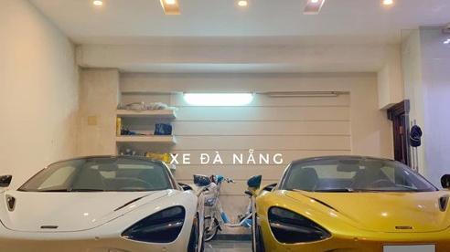 McLaren 720S Spider đầu tiên Việt Nam cập bến Đà Nẵng, nằm chung garage với một chiếc đặc biệt không kém