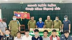 Triệt phá đường dây vận chuyển 10 kg ma túy đá trên biên giới Quảng Trị
