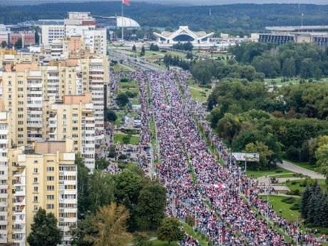 Belarus bắt giữ 633 người biểu tình quá khích có hành vi phạm pháp