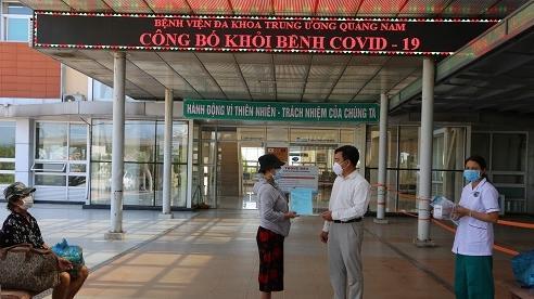 Quảng Nam công bố 19 bệnh nhân khỏi COVID-19