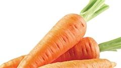 Cà rốt - vị thuốc chữa tiêu chảy  ở trẻ em