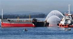 Cháy nổ tàu chở dầu ở Dung Quất, 1 thuyền viên mất tích