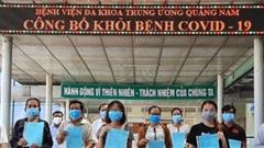 Thêm 19 bệnh nhân mắc Covid-19 ở Quảng Nam khỏi bệnh
