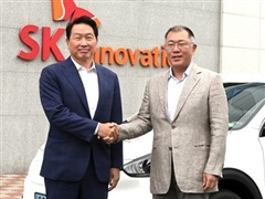 Hyundai và SK Innovation hợp tác sản xuất pin ôtô điện