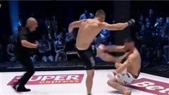 Võ sĩ MMA bị xử thua vì đá thẳng mặt đối thủ