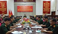 Thượng tướng Lê Chiêm kiểm tra công tác tư pháp, thanh tra, pháp chế tại Quân khu 9