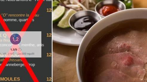 Cố tình làm menu 'chế' Phở thành từ tục tĩu, một nhà hàng ở Canada bị cư dân mạng đồng loạt đánh 1 sao