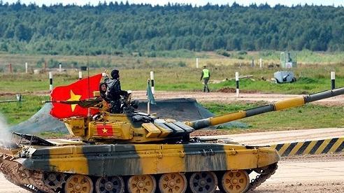 Army Games, Tank Biathlon: PR cho tăng T-72B3M mới của Nga?