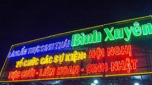 Phó Chủ tịch UBND huyện Bình Chánh nói về vụ xây dựng trái phép ở Làng ẩm thực sinh thái Bình Xuyên