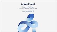 Apple gửi thư mời sự kiện 15/9