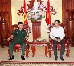 Tăng cường phối hợp lãnh đạo công tác quân sự, quốc phòng