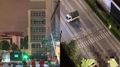 Vụ 2 thi thể không nguyên vẹn dưới chân tòa chung cư ở Hà Nội: Mảnh giấy ở hiện trường viết gì?
