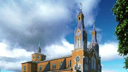 Nhà thờ ở Chiloé