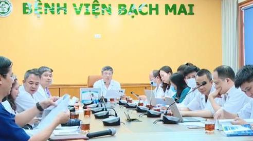 Cận cảnh buổi hội chẩn trực tuyến cho 5 bệnh nhân ở miền núi tại 'điểm cầu' Hà Nội