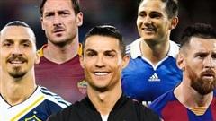 Top 5 cầu thủ ghi nhiều bàn nhất từ điểm đá phạt đền tính từ đầu thế kỷ 21