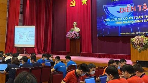 Diễn tập ứng cứu sự cố an toàn thông tin mạng cho tỉnh Quảng Ninh
