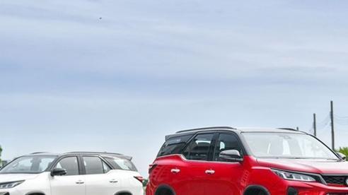 Các đại lý đã bắt đầu nhận đặt cọc mẫu xe Toyota Fortuner 2021