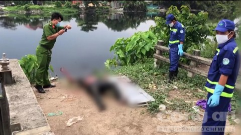 Phát hiện thi thể người đàn ông trên sông Vàm Thuật