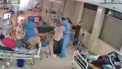 Máy thở bốc cháy, phát nổ trong phòng điều trị Covid-19 ở Ấn Độ