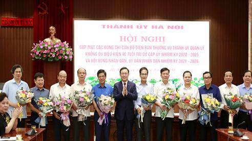 Nhiều cán bộ chủ chốt ở Hà Nội tự nguyện có đơn xin nghỉ sớm