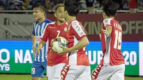 Video bàn thắng Bà Rịa - Vũng Tàu 2-3 TP.HCM