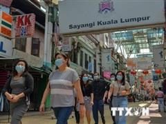 Malaysia ghi nhận số ca nhiễm COVID-19 trong ngày cao nhất 3 tháng