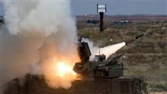 Syria công bố video Pantsir diệt gọn tên lửa Israel