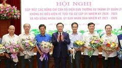 Thành ủy Hà Nội gặp mặt 78 cán bộ không đủ điều kiện về tuổi tái cử cấp ủy