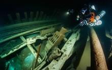 'Tàu ma' hiện hình nguyên vẹn sau 400 năm bị biển Baltic nuốt chửng