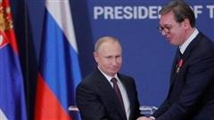 Vì đâu ông Putin mở lời xin lỗi Tổng thống Serbia?