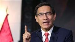 Tổng thống Peru Martin Vizcarra chính thức bị Quốc hội luận tội