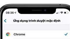 Cách đặt Google Chrome làm trình duyệt mặc định trên iPhone