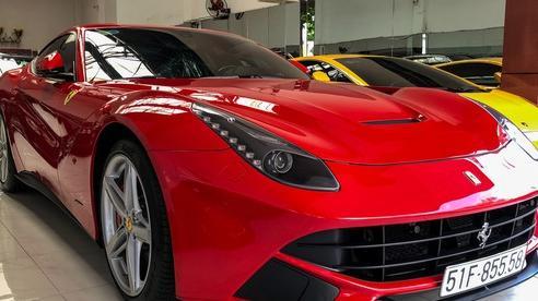Ferrari F12berlinetta với lai lịch đặc biệt cập bến showroom siêu xe đình đám tại Sài Gòn