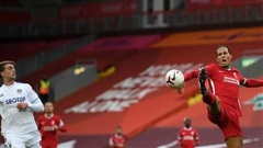 Liverpool thắng kịch tính, Van Dijk bị chỉ trích vì 'quá ngạo mạn'